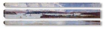 Модульная картина Дождь на гавани Сиднея