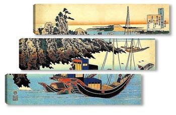 Модульная картина Пристань