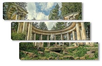 Модульная картина Павловский парк. Колоннада Аполлона.