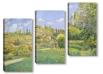 Модульная картина Пастух в Валхермейл, Овер-сюр-Уаз