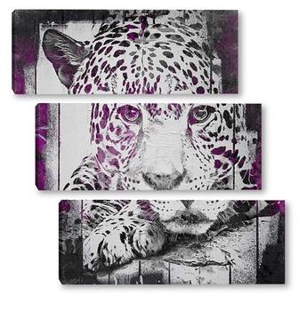Сиреневый леопард