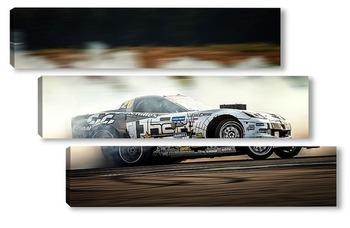 Модульная картина Chevrolet Corvette