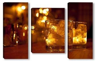 Модульная картина виски