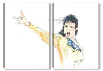 Модульная картина Майкл Джексон