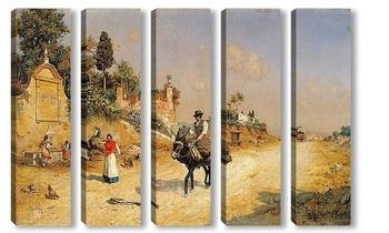 Модульная картина Ла Фуэнте-де-Рединг