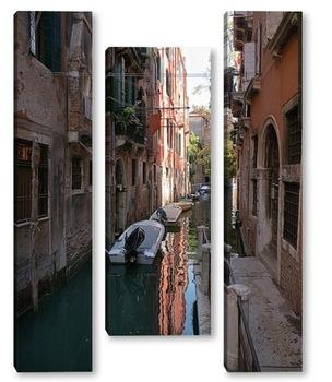 Модульная картина Узкие каналы Венеции
