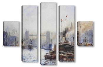 Модульная картина Тауэрский мост Лондон
