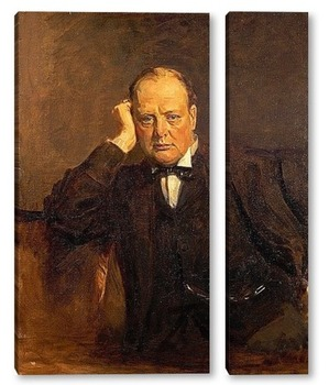 Модульная картина Черчиль Уинстон