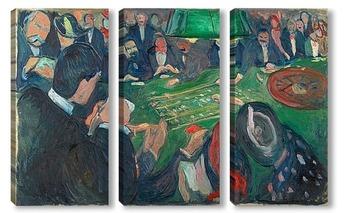 Модульная картина Рулетка в Монте Карло