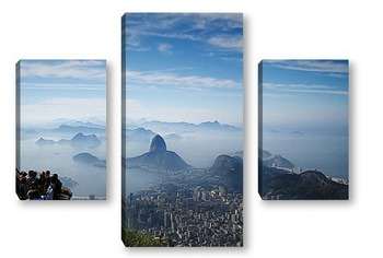 Модульная картина Rio021