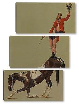 Модульная картина Цирк Мольера