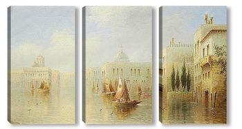 Модульная картина Венецианские Каприччио