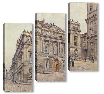 Модульная картина Старый университет Вены