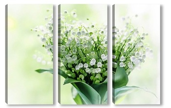 Модульная картина Lily-of-the-valley
