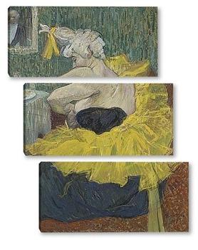 Модульная картина Клоун Ча-У-Као, 1895