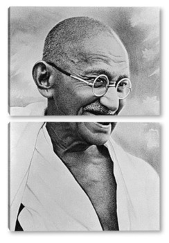 Модульная картина Ганди