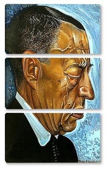 Модульная картина Портрет Рахманинова