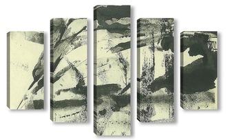 Модульная картина Abstract summer landscape1