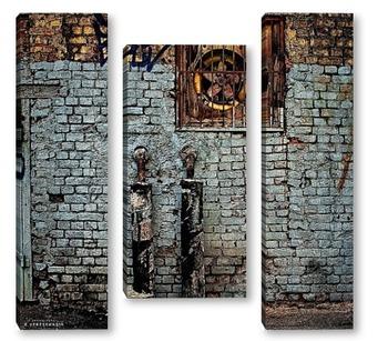 Модульная картина Урбанометрия. Индастриал.