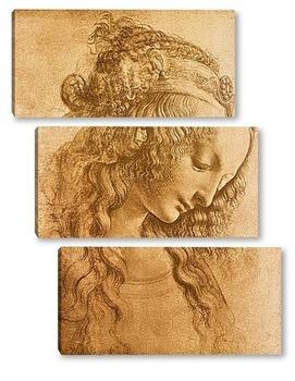 Модульная картина Leonardo da Vinci-10
