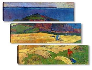 Модульная картина Урожай, 1890