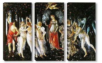 Модульная картина Botticelli-4