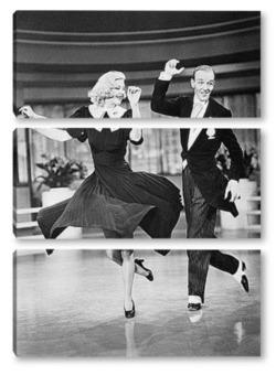 Модульная картина Fred Astaire-4