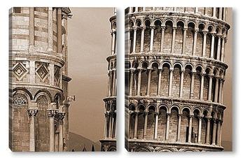 Модульная картина RH005843-sepia-1