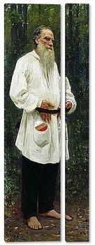 Модульная картина Л.Н.Толстой босой
