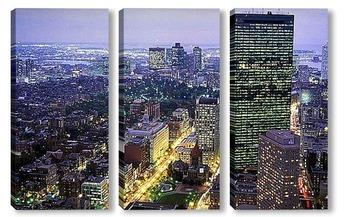 Модульная картина Boston005