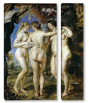 Модульная картина Три грации