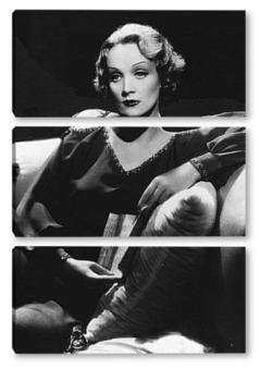 Модульная картина Актрисса Марлен Дитрих,1930-е.