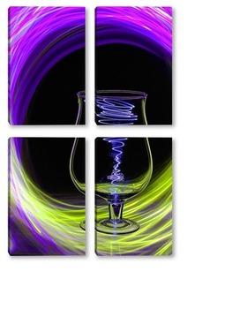 Модульная картина Энергетический коктейль