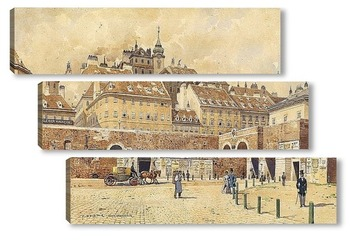 Модульная картина Вена