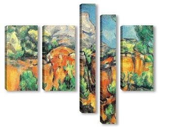 Модульная картина Cezanne033