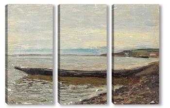 Модульная картина Утро у моря