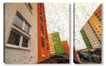 Модульная картина Городской пейзаж