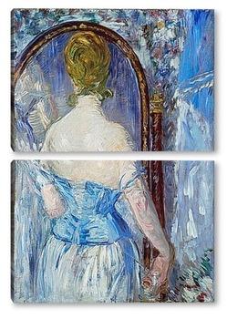 Модульная картина Перед зеркалом