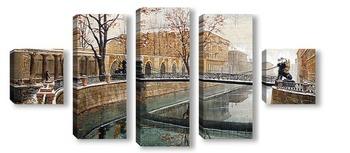 Модульная картина Мосты Санкт-Петербурга