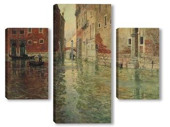 Модульная картина Район Венеции