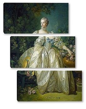 Модульная картина Мадам Бержере