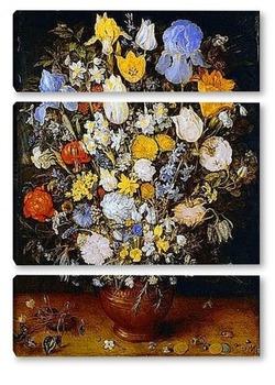 Модульная картина Букет