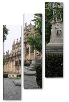 Модульная картина По пути к собору