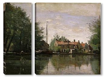 Модульная картина Вид Голландии