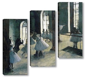 Модульная картина Репетиция танца