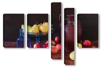 Модульная картина С фруктами
