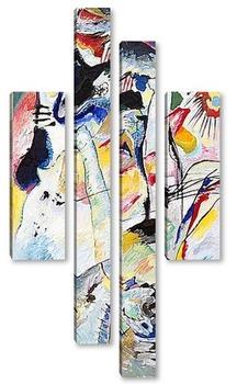 Модульная картина Панель для Эдвина Р. Кэмпбелла № 3