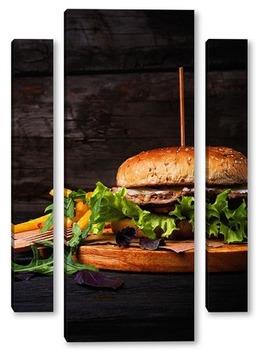 Модульная картина Бургер