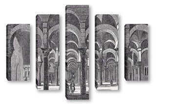 Модульная картина Architecture 50