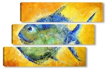 Модульная картина Рыбка